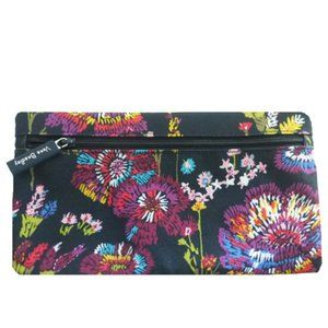🌸Vera Bradley Midnight Wild Flower Cosmetic Pouch